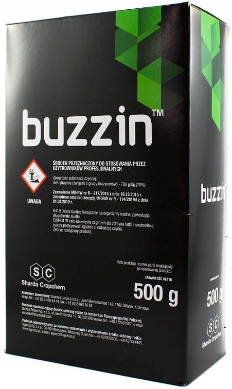 Buzzin 70WG 500 г картофельные сорняки