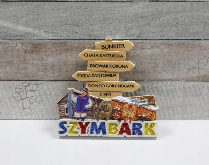 SZYMBARK / DROGOWSKAZ - магнит на холодильник