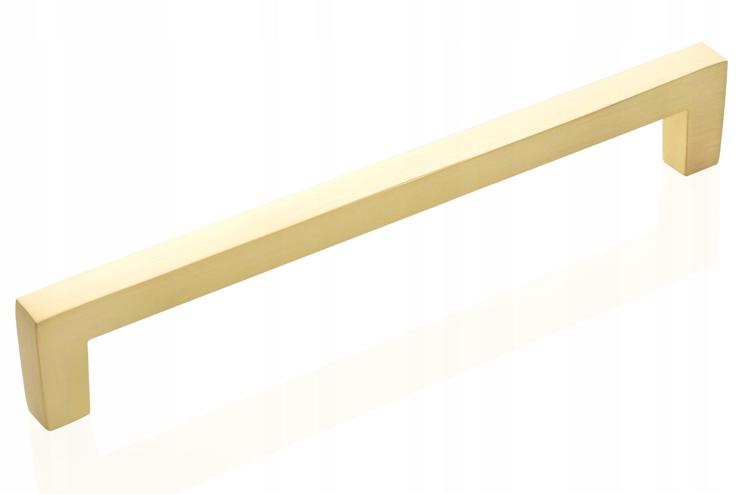 Ручка мебельная ВЕЛОР - золото МАТ 128 мм