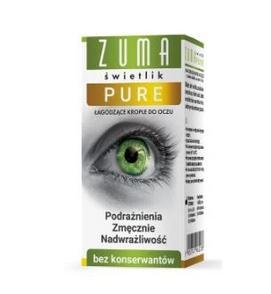 Купить ZUMA ŚWIETLIK PURE krople do oczu BEZ KONSERWANTÓW на Otpravka - цены и фото - доставка из Польши и стран Европы в Украину.