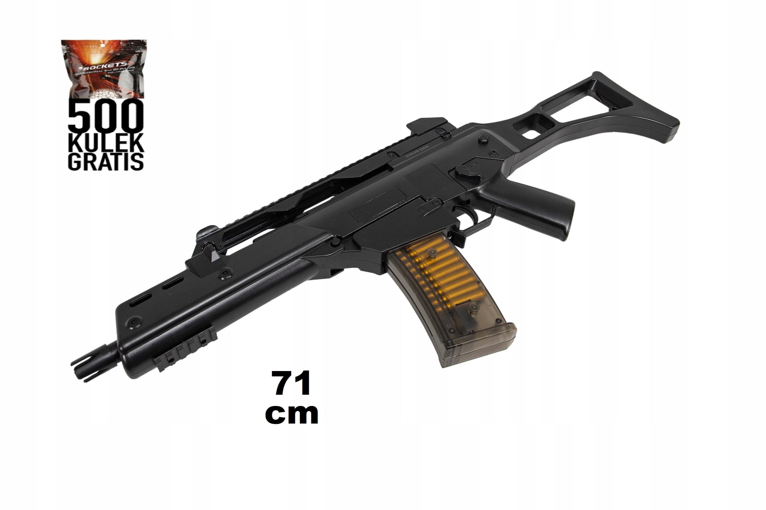 Puška G36 DVOJNÁSOBNÝ EAGLE | 500 LOPTOV ZADARMO!