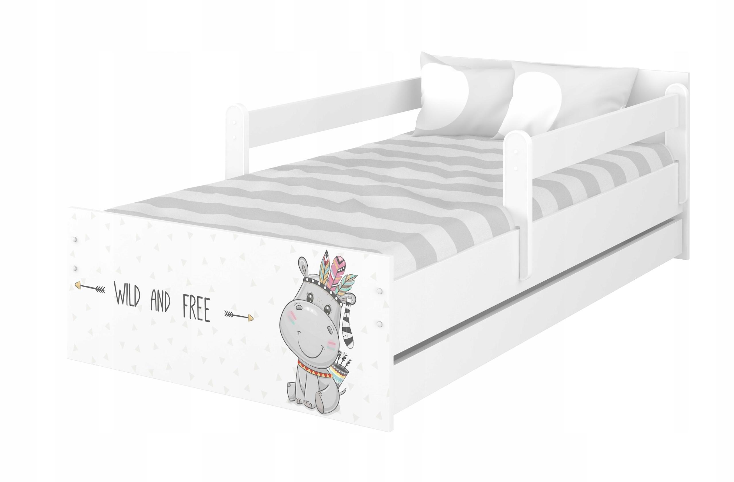 Łóżko dziecięce MAX 180x90 + materac + szuflada