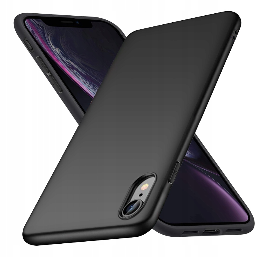 ETUI do iPhone XR CASE MATT + SZKŁO 9H