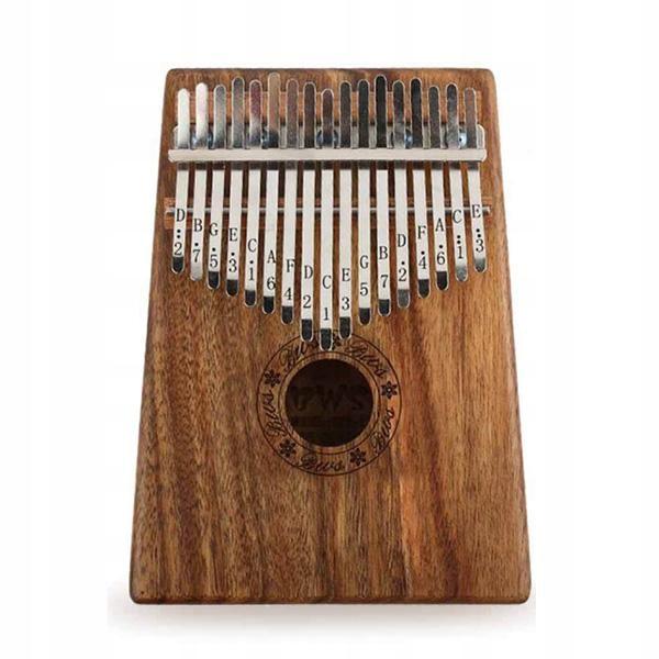 Item Portable wooden Kalimba 17 key piano