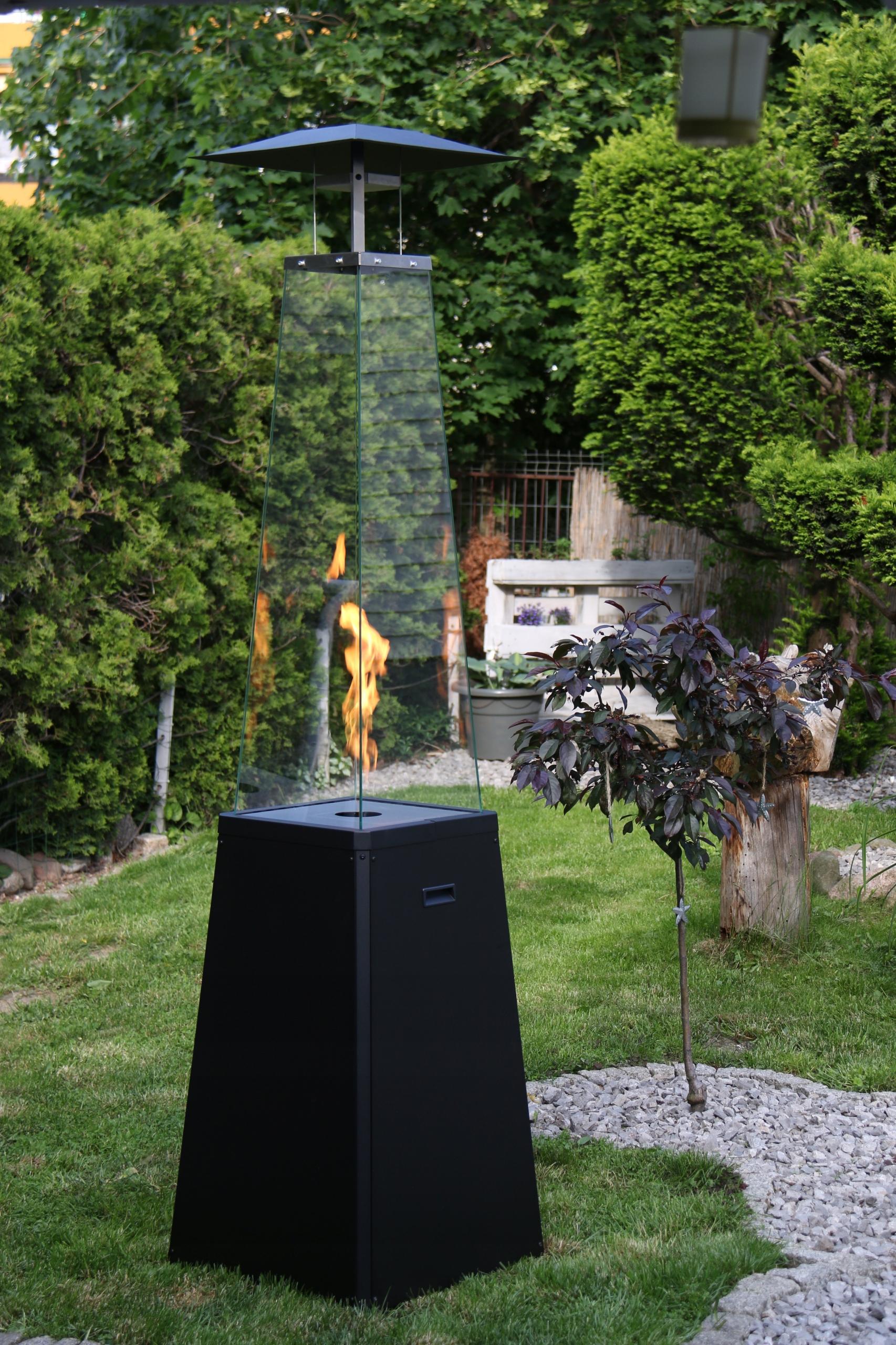 plynový ohrievač vykurovací dáždnik čierny UMBRELLA Tradičný štýl