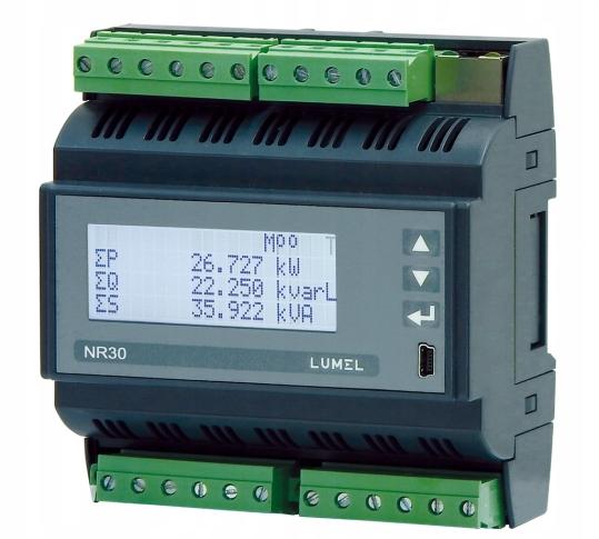 1- a 3-fázový sieťový merač Nr30 122100m0