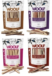 Ремни для собак Woolf MIX of Flavors 4x100g