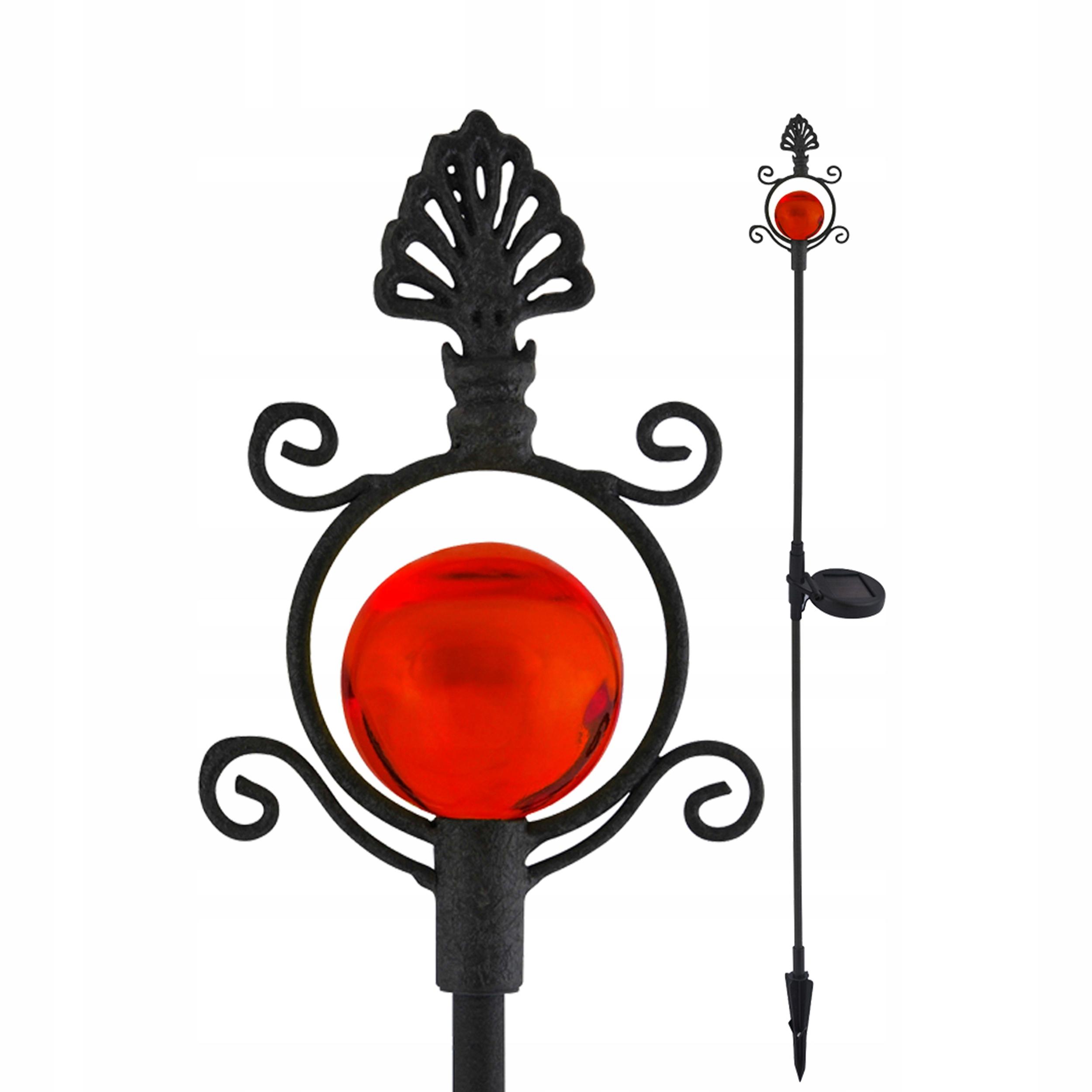 Lampy solárne LED dekoratívne Vintage coral CW POLUX