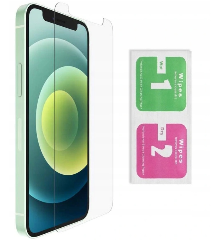 VESKE til IPHONE 12 PRO MAX GLITTER VESKE + GLAS 9H Dedikert modell iPhone 12 Pro Max 6