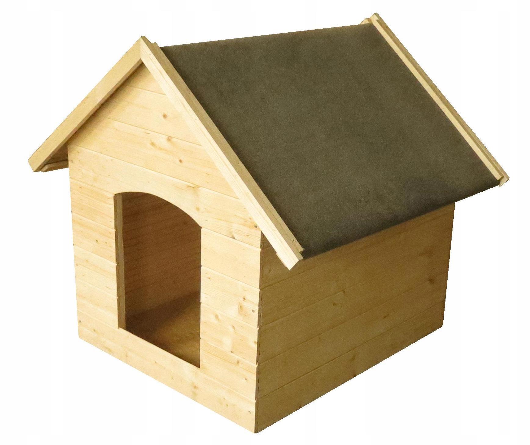 Timbela M402 Drewniana buda dla psa - 0.5 m²
