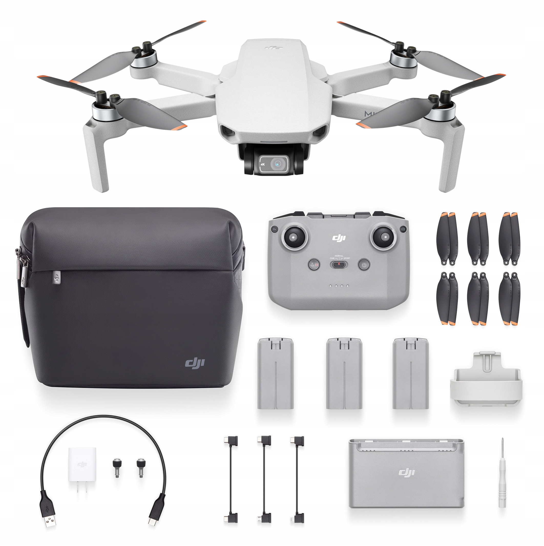 Dron DJI Mini 2 Fly More Combo (Mavic Mini 2) 4K