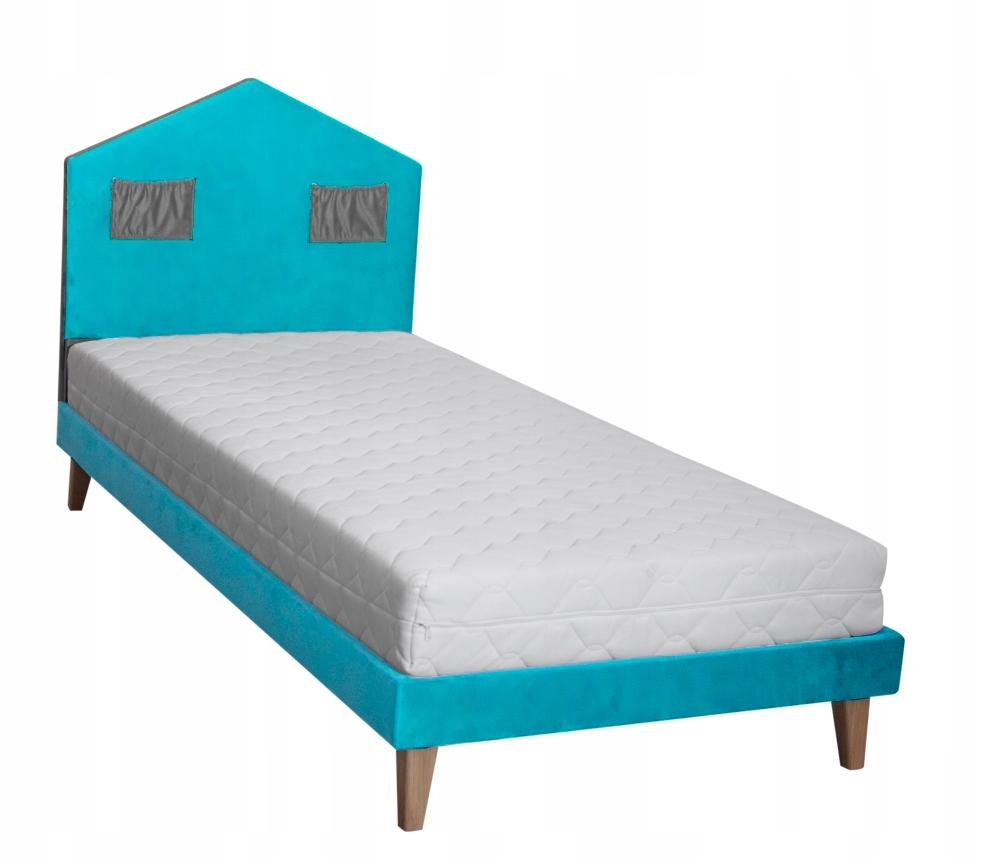 CHATA 1 posteľ 100x200 deti mäkké
