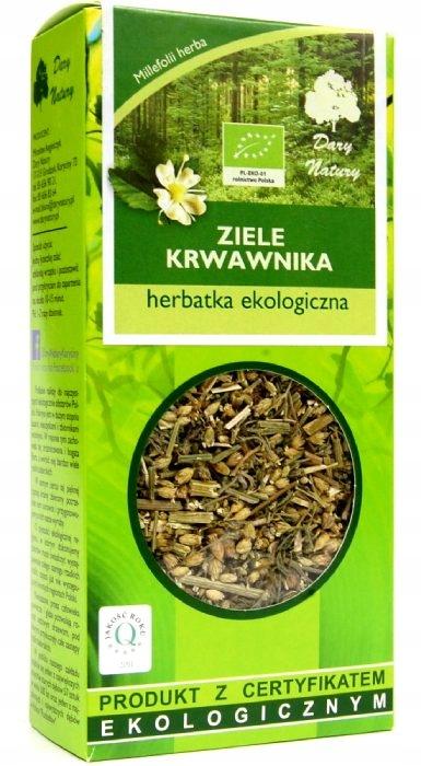 DARY NATURY krwawnik ziele herbatka BIO na rany 50