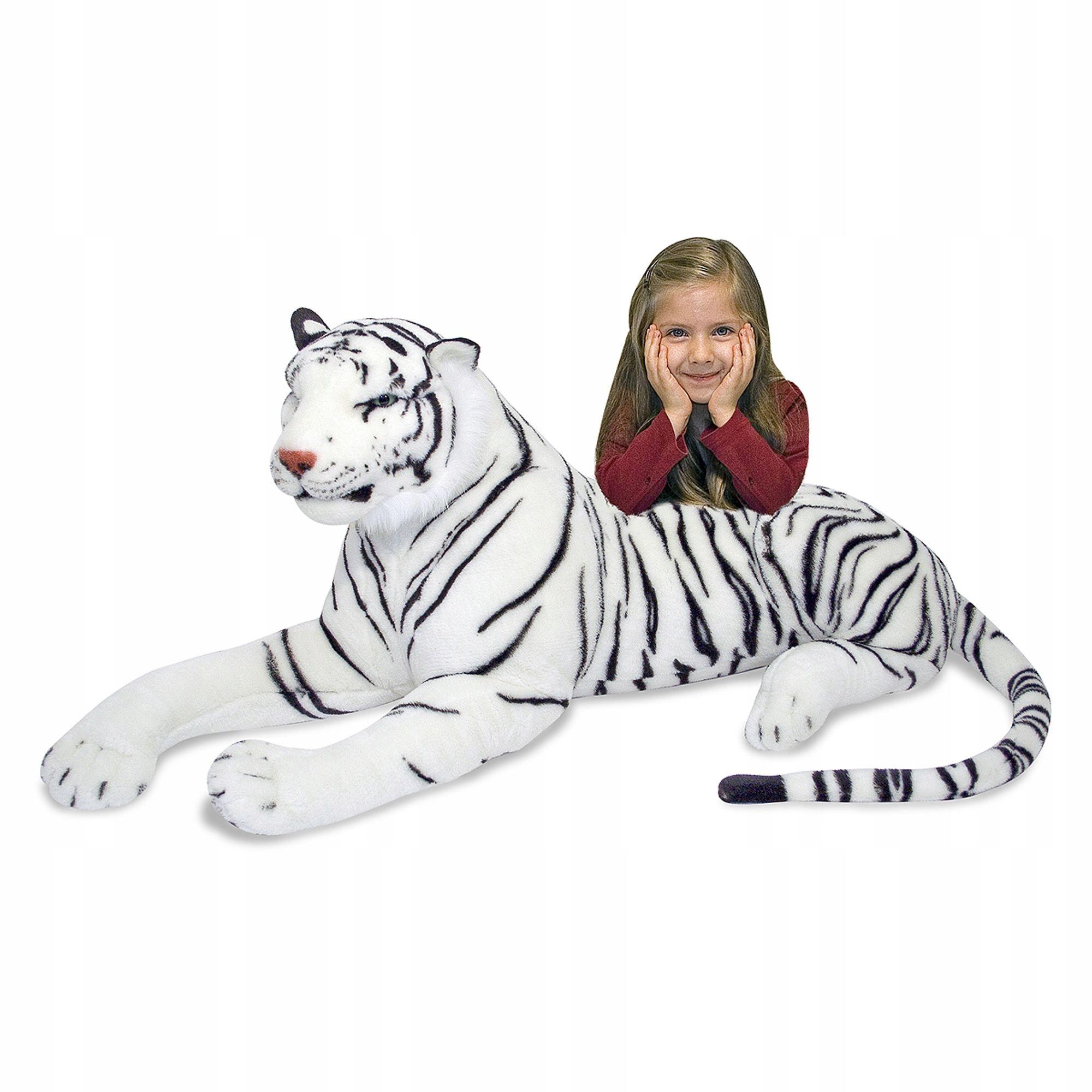 Plyšová hračka pre deti maskota tigra MelissaDoug