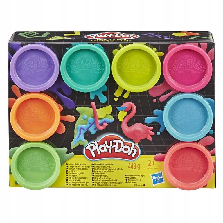 Play-Doh Play Dough Neon 8 Pack E5063