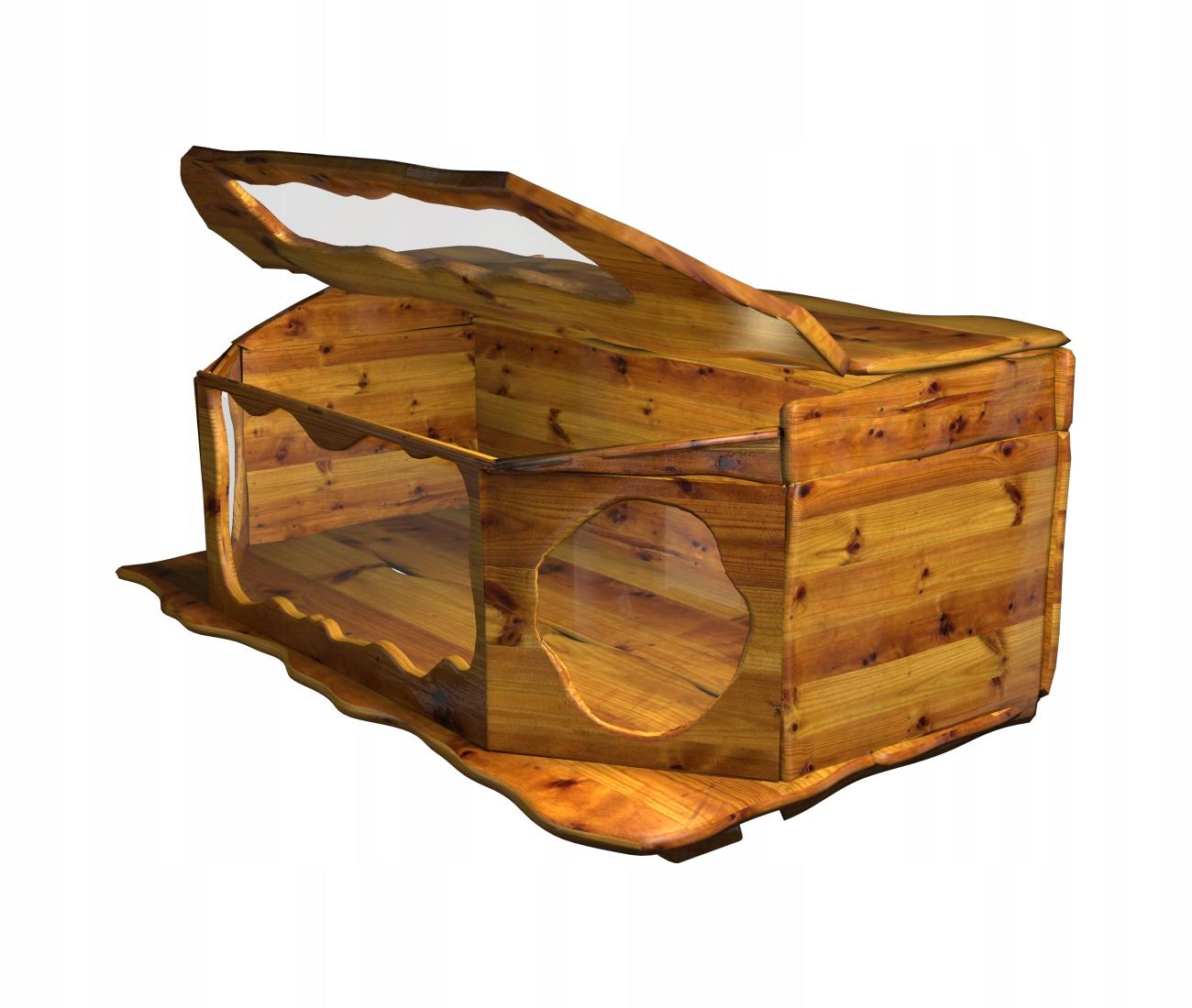 Terárium unikátne drevené ručné
