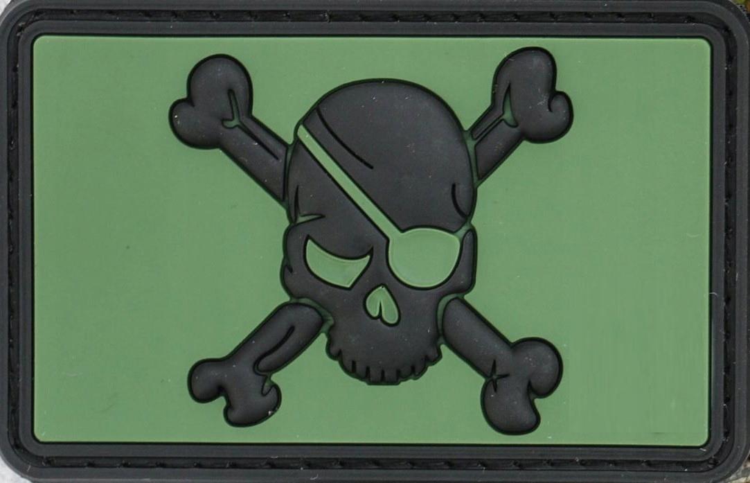 4TAC pirát pirát pirát patch PVC