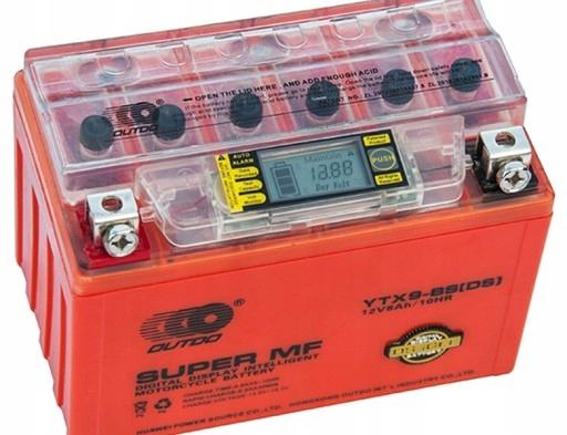 Гелевый аккумулятор YTX9-BS 12V 8Ah