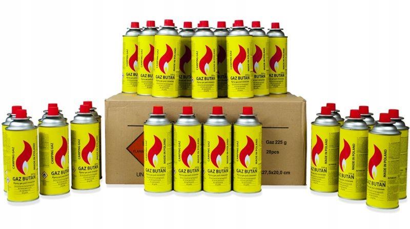 Купить Картонная коробка с газом 400 мл картридж с газом на Otpravka - цены и фото - доставка из Польши и стран Европы в Украину.