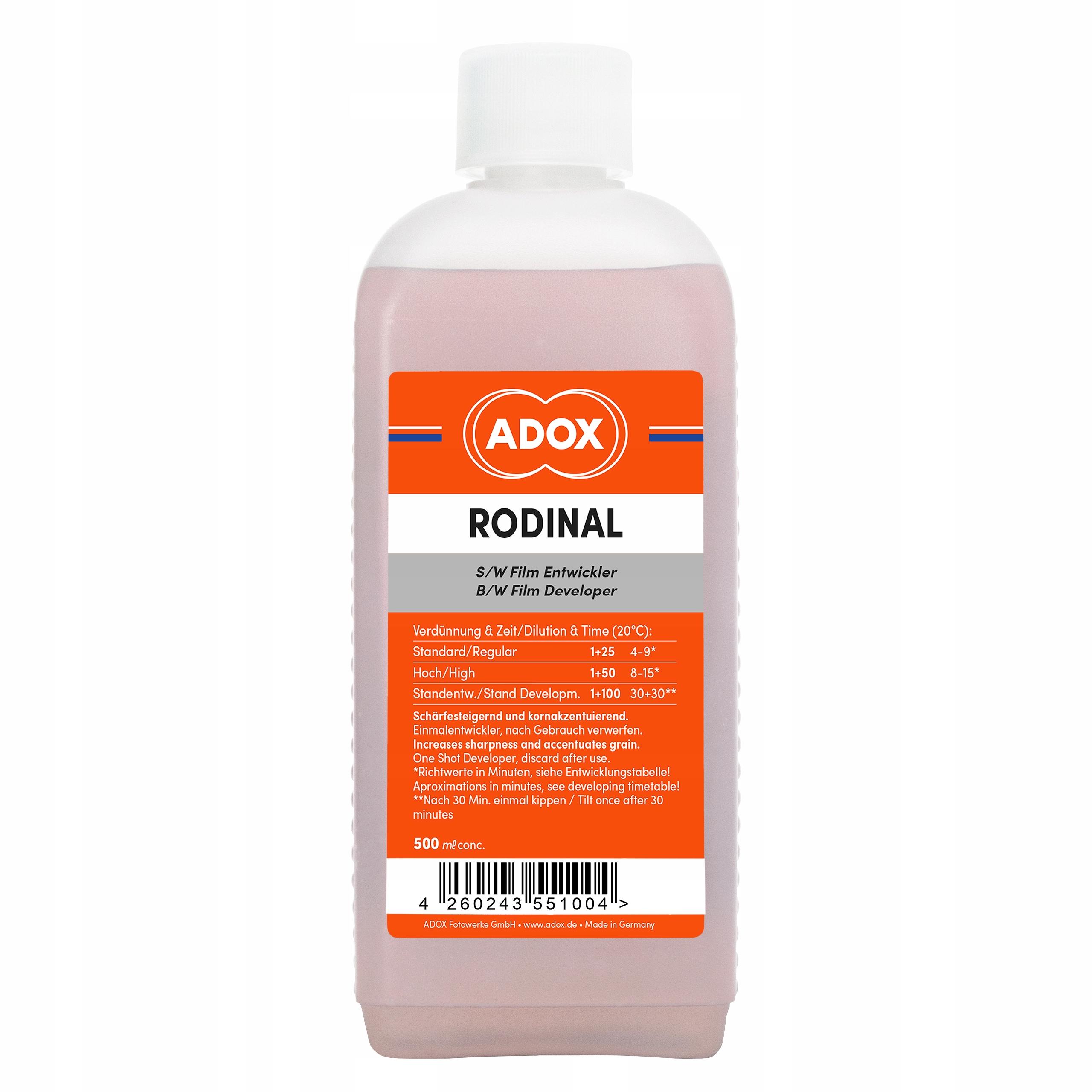 ADOX RODINE ORIGINAL R09 AGFA 500ML FRESH !!