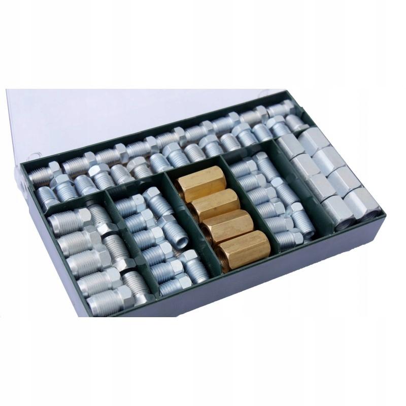 комплект наконечников фитингов проводов колодок 115