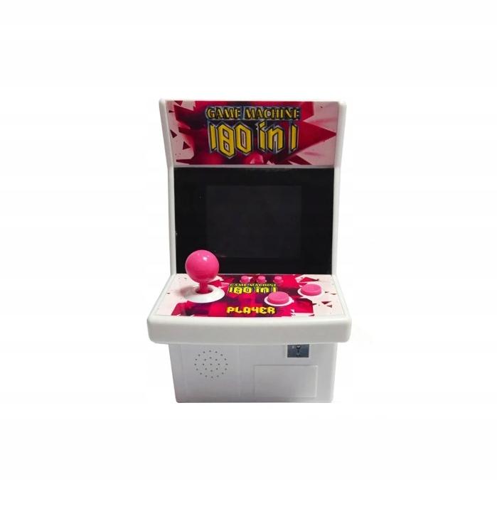 Retro Automatická arkádová 180 hier Prenosná konzola