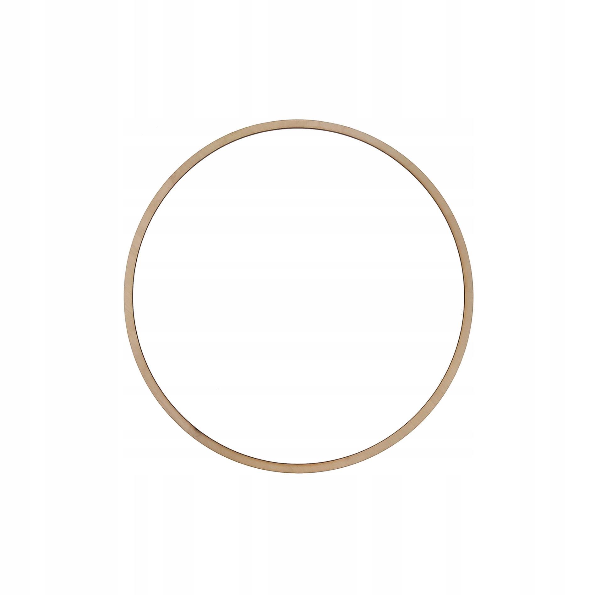 Drewniana obręcz kółko do łapacza snów - 22 cm
