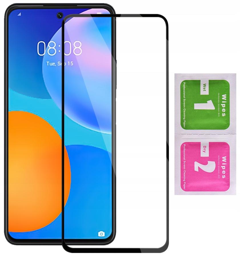 Szkło do Huawei P Smart 2021 Hartowane cały ekran