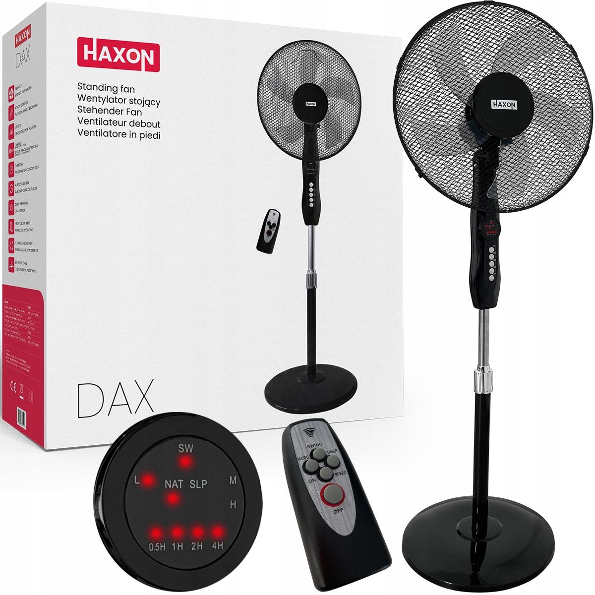 Напольный вентилятор Напольный вентилятор HAXON + пульт дистанционного управления
