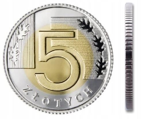 5 zł złotych 2008 mennicza mennicze