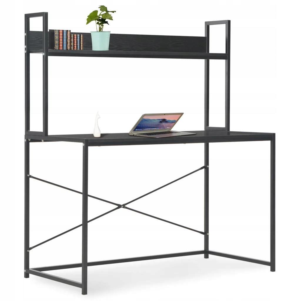 Počítačový Stôl black 120x60x138 cm