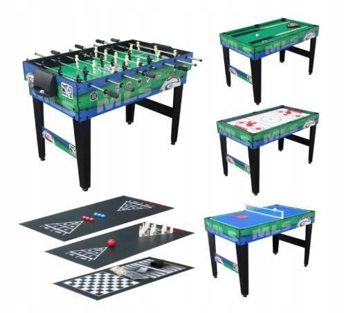 Multi Game Table 12in1 Ping Pong Table
