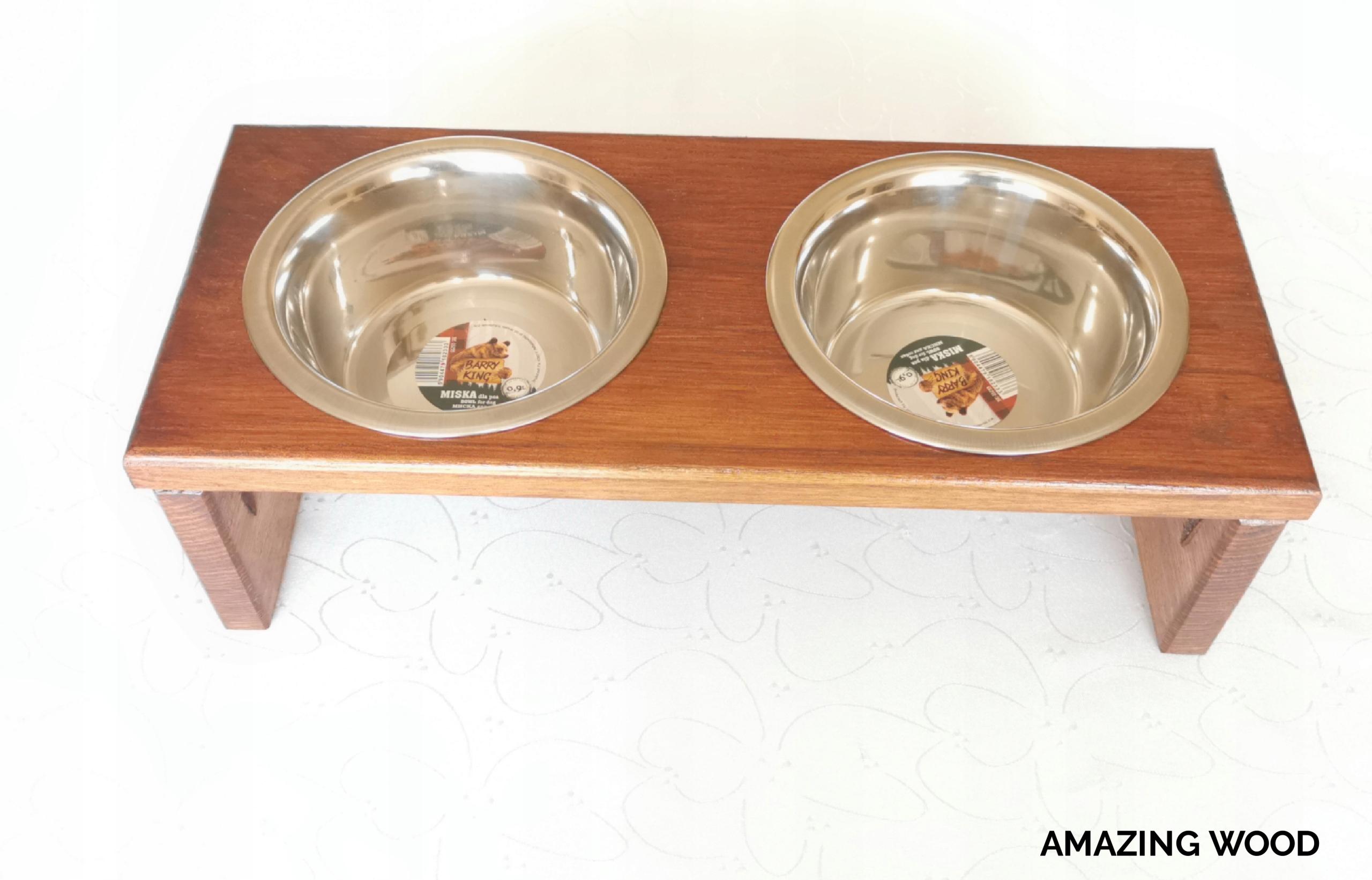 Деревянная подставка для собачьей миски ВЫСОКОЕ КАЧЕСТВО