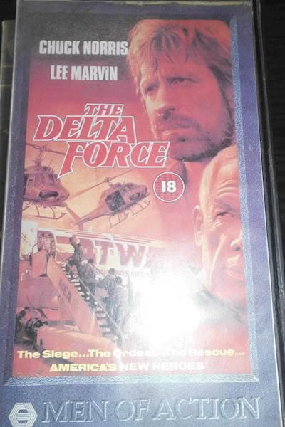 Item The delta force - Chuck Norris