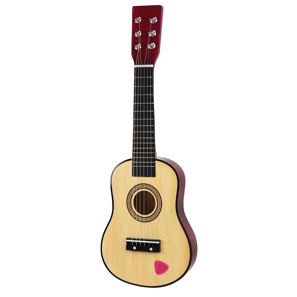 Drevená klasická gitara pre deti 6 String 58cm