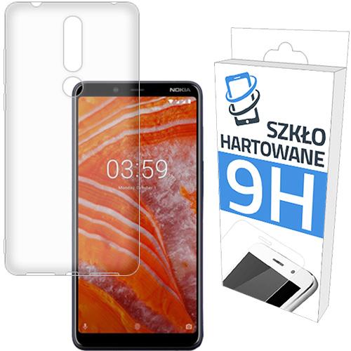 Etui Slim Case + Szkło Hartowane do Nokia 3.1 Plus