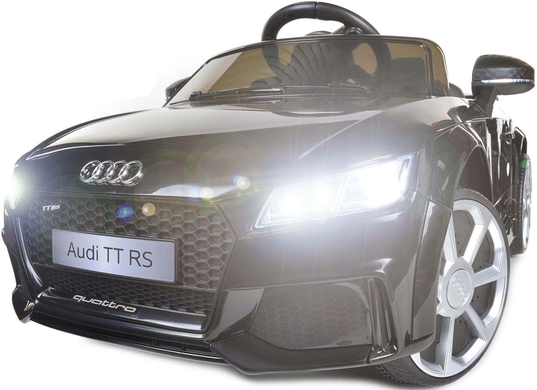 Auto Na Akumulator Audi Tt Rs Dla Dzieci 2 Silniki 9938837271 Allegro Pl