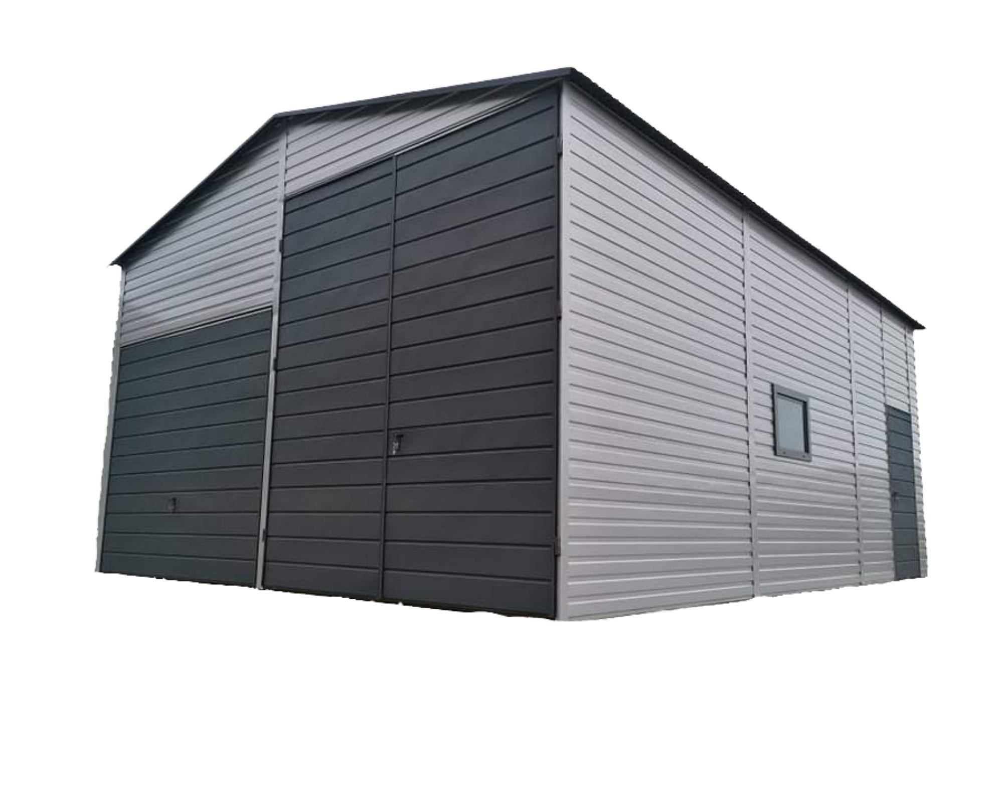 Жестяные гаражи, навес, навес, склад 6х10