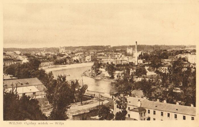 Vilnius. Všeobecný pohľad - Wilja. 192-?