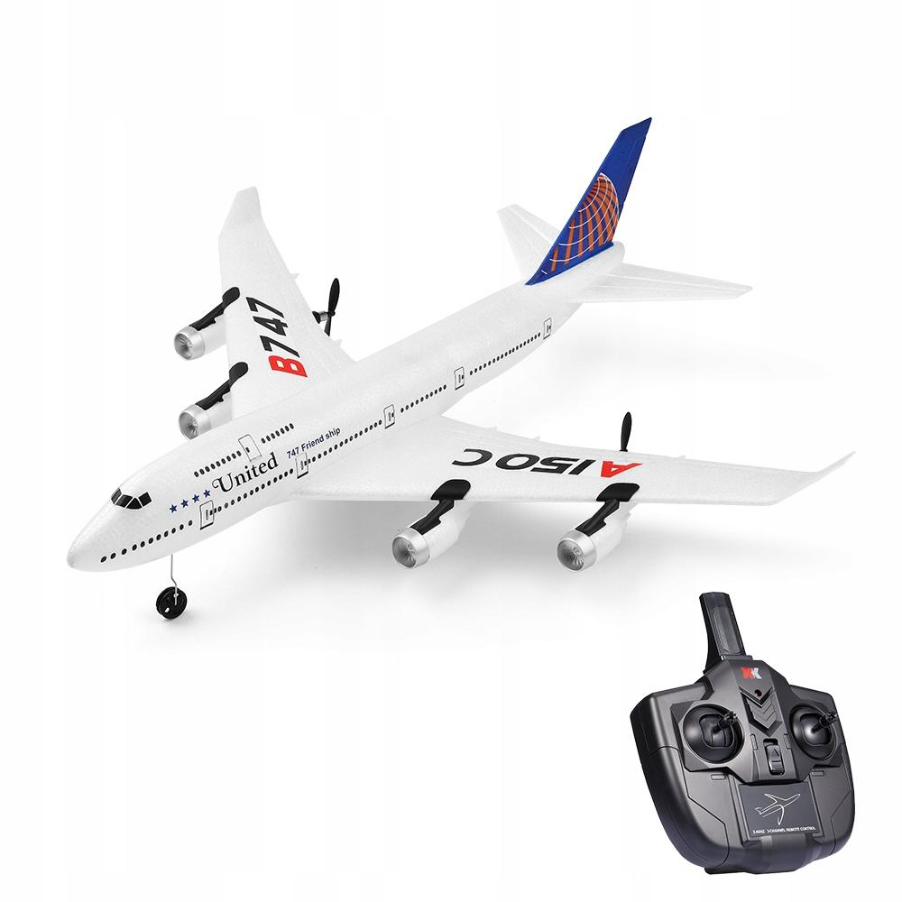 Letúny s diaľkovým ovládaním Airplane Wltoys XKS