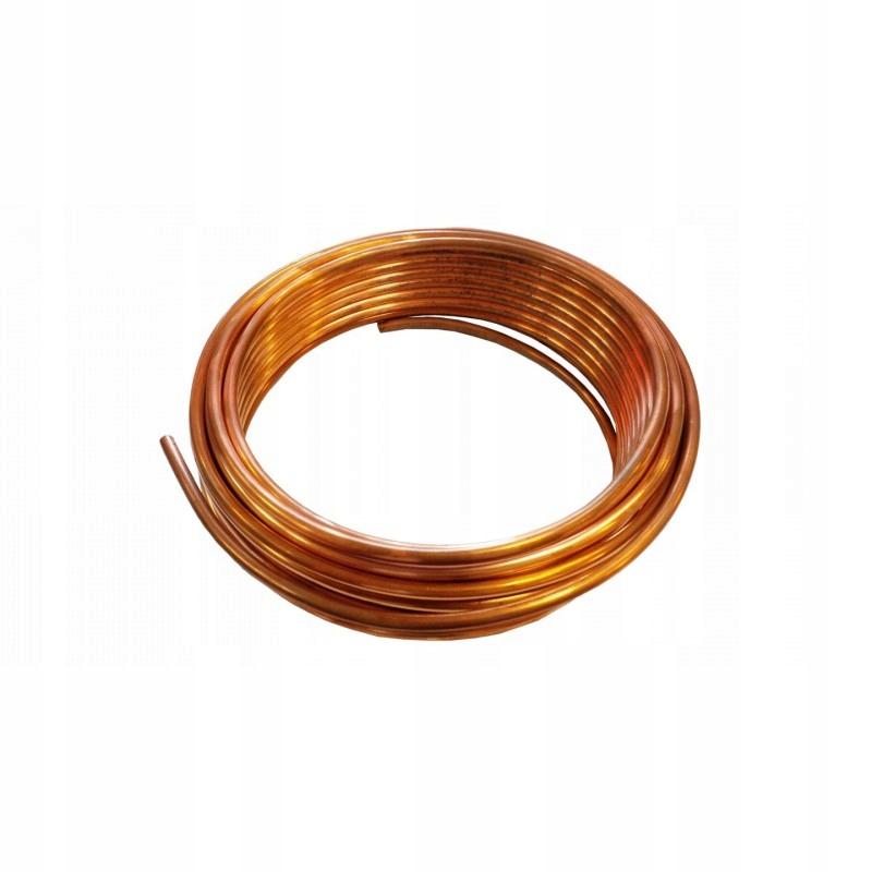 трубка труба медная на провода колодки 10m