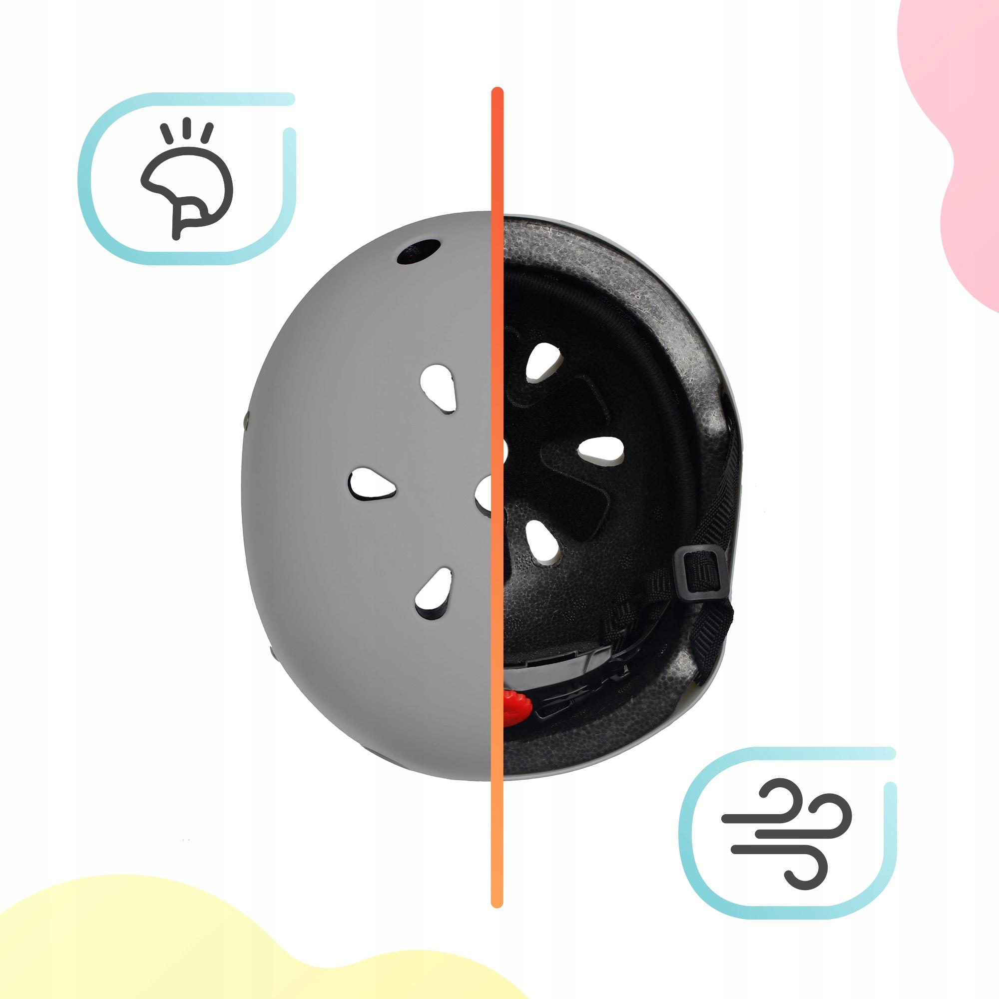 Kask rowerowy dziecięcy Kinderkraft SAFETY Waga produktu z opakowaniem jednostkowym 0.27 kg