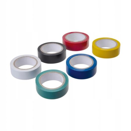 ПВХ изоляционные ленты цвета водонепроницаемый 1,6 см 5м