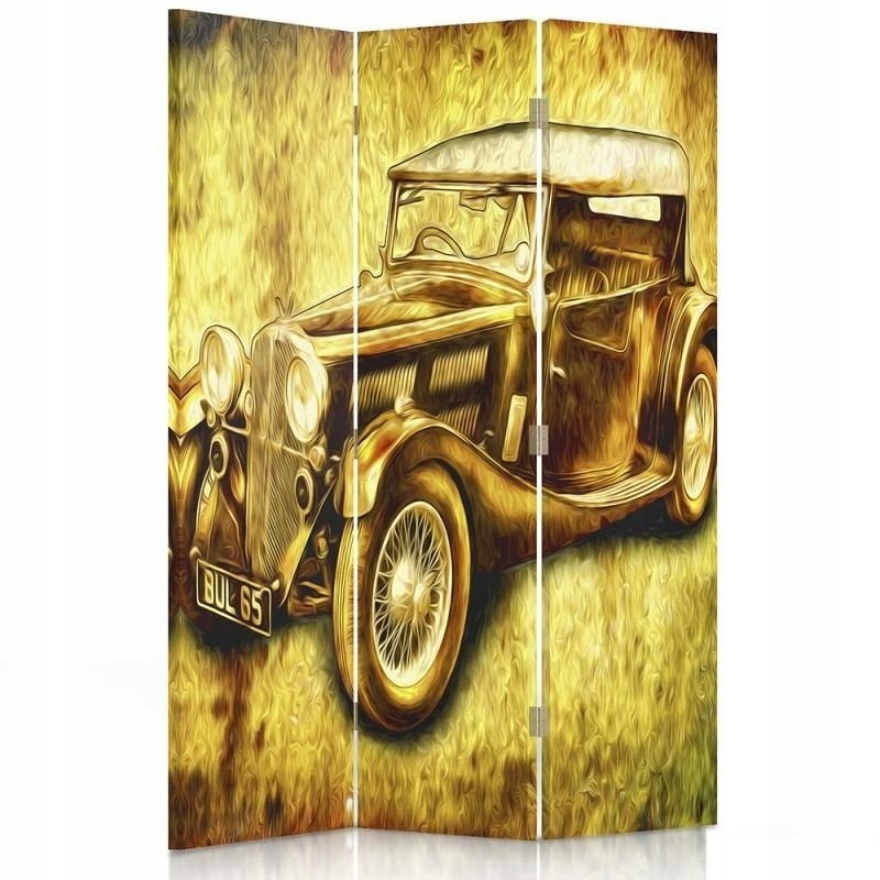 """Obrazovky v kancelárii """" auto retro 110x150"""
