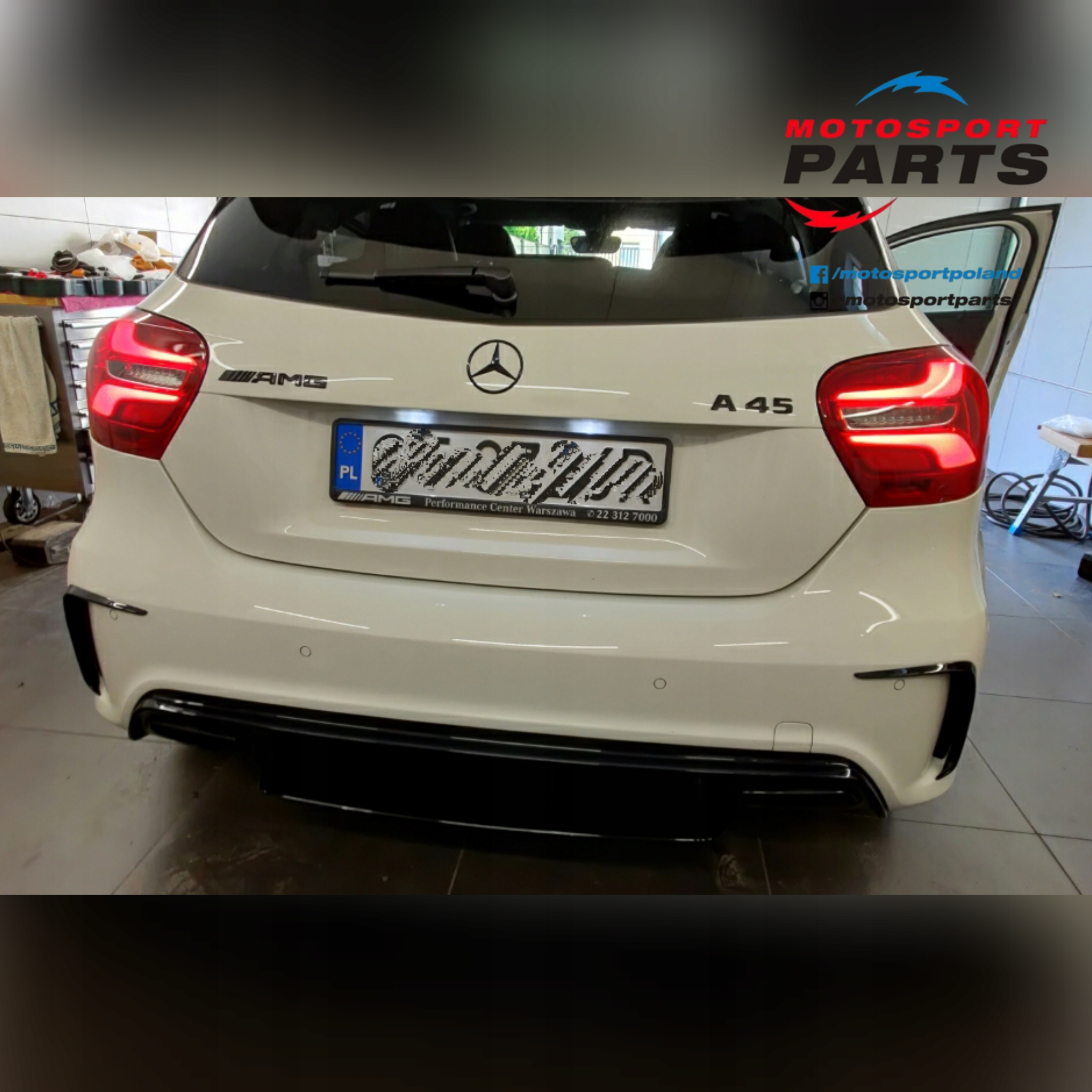 Mercedes A 45 Amg Emblematy Gwiazda Znaczki A45 Pabianice Allegro Pl