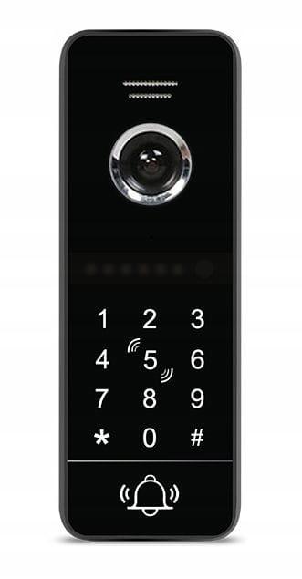 Wideodomofon 5tech CZYTNIK RFID FULL HD WIDEOFON Rodzaj domofonu Jednorodzinny