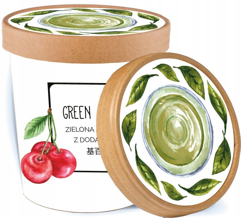 CHERRY TEA ROSE зеленый чай в подарочной коробке