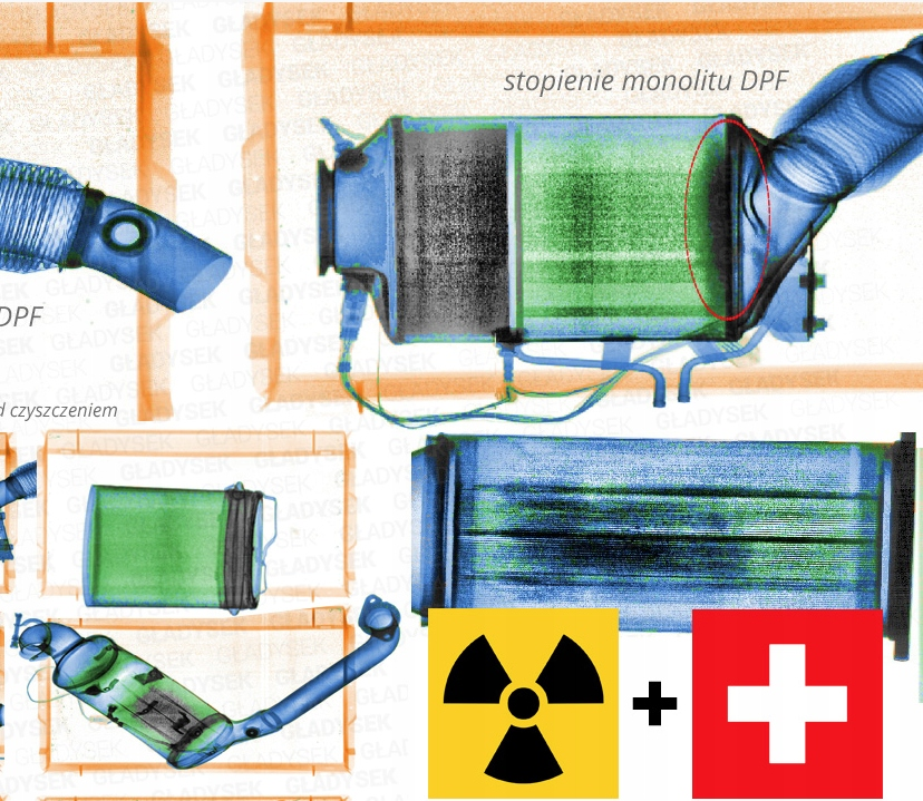 рентген к dpfów чистка фильтра dpf + фото рентген