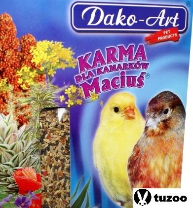 """Maciuś potravín pre kanárske ostrovy """" Dako-Art 10 kg"""