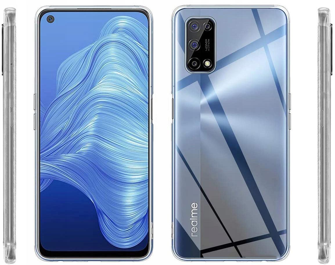 Etui do Realme 7 5G Clear Case + Szkło 9H Kod producenta D100